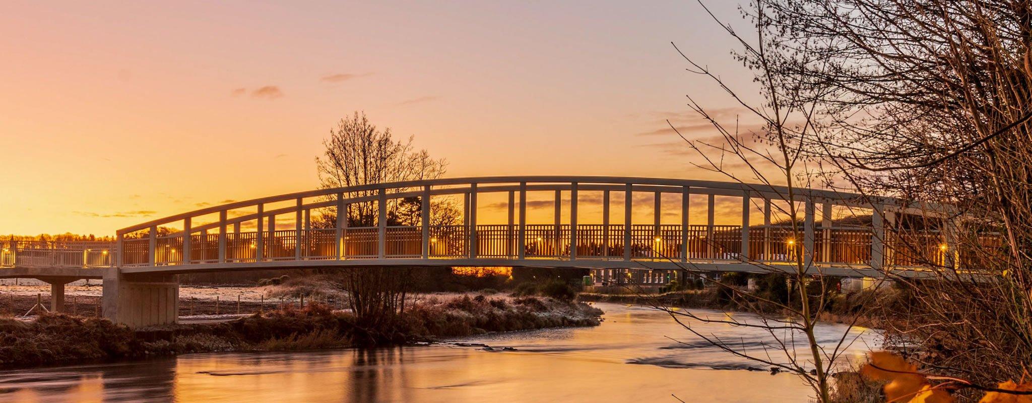 New Sparling Bridge - Newton Stewart - Photo by Mark McKie